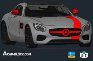 2016 Mercedes-Benz AMG 3D GT Tuning