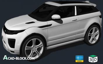 2017 Land Rover Range Rover Evoque Dynamic Sport 3в