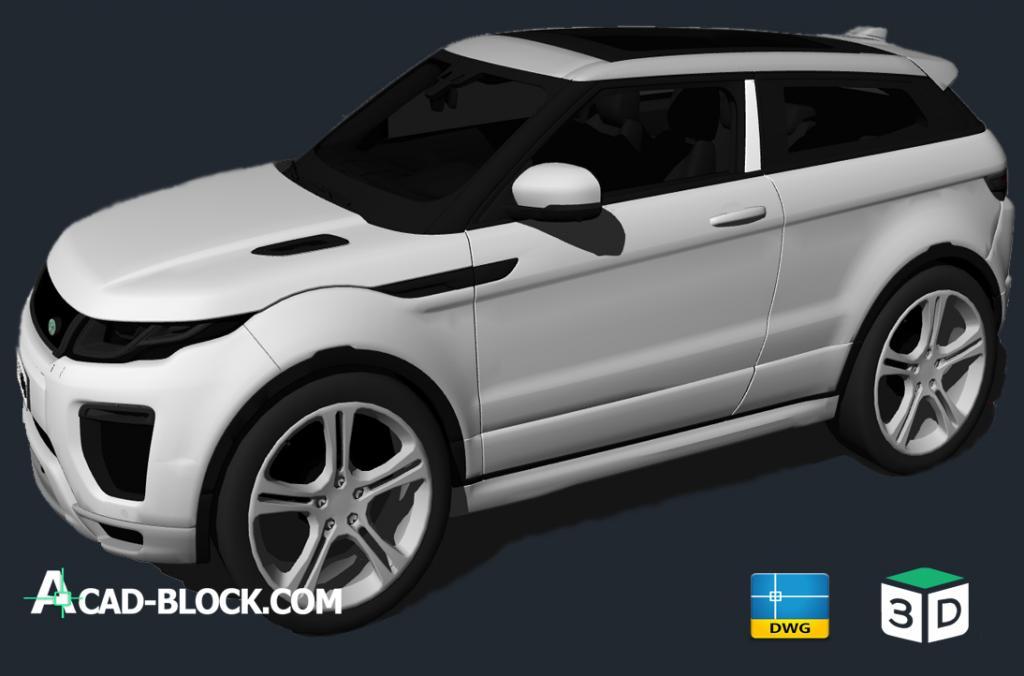 2017 Land Rover Range Rover Evoque Dynamic Sport 3d
