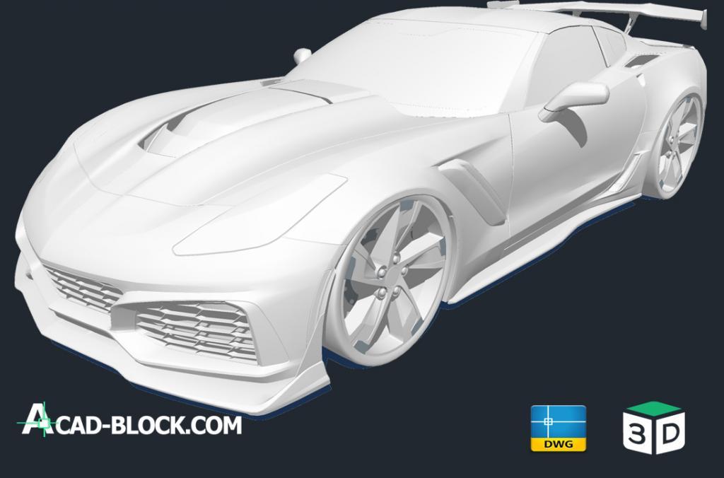 2018 Corvette ZR1 3d