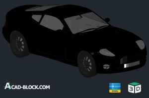 Aston Martin V12 Vanquish-3d-dwg