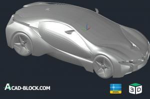 BMW Vision Efficient Dynamics 3d