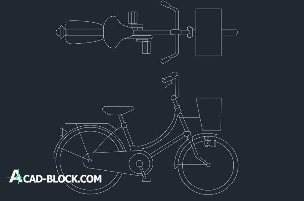 Bike 2d dwg