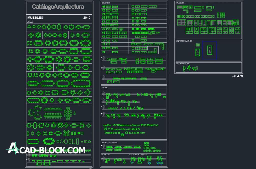 Catalog Arquitectura dwg