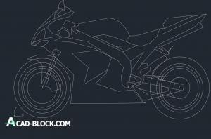 Motorcycles cad dwg