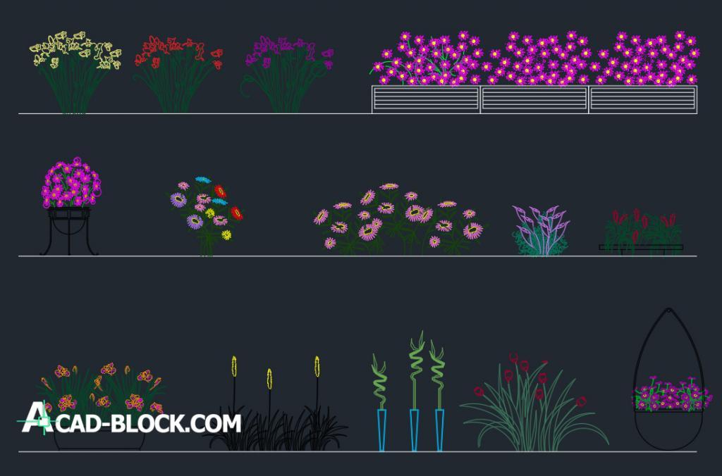 Flowers dwg