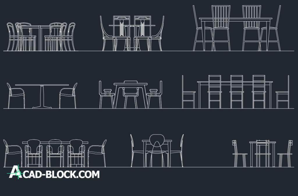 Furniture free dwg