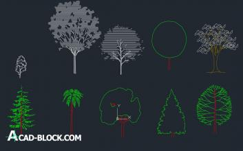 Trees dwg