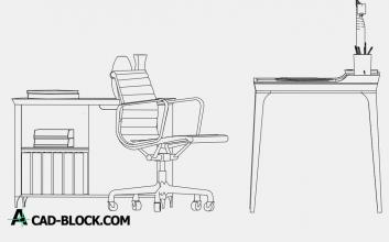 Desk dwg cad
