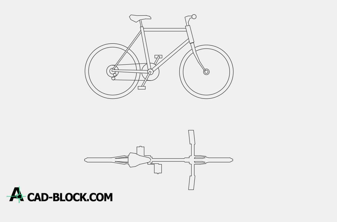 2D Bike dwg