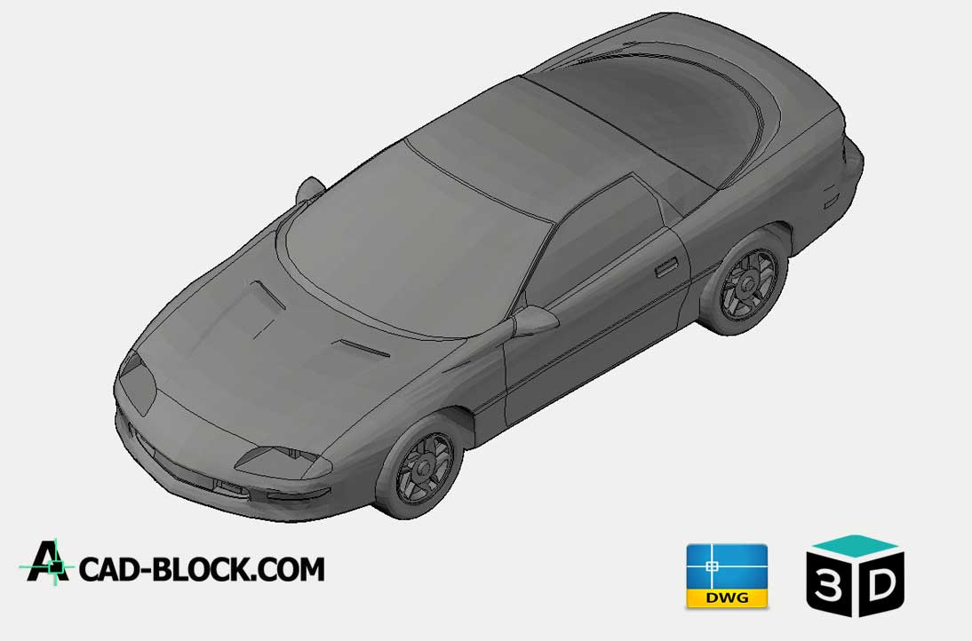 Chevrolet Camaro 3D DWG