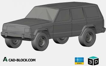 Jeep Cherokee 3D DWG