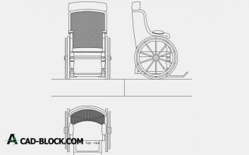 Wheelchair dwg