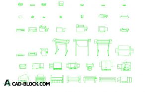 Download Printer CAD Block