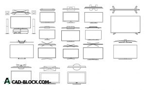 DOWNLOAD TV CAD BLOCKS