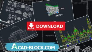 Free architectural cad blocks dwg in Autocad 2D