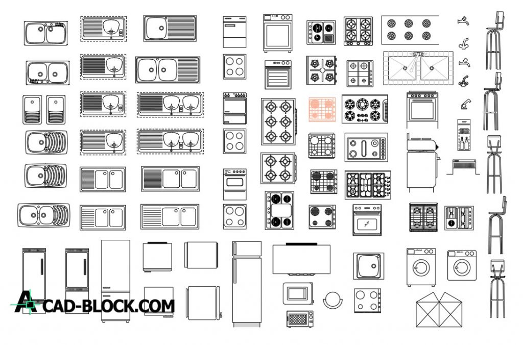 Kitchen Cad Blocks