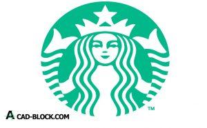 Starbucks logo dwg download