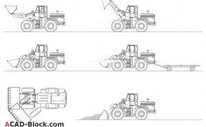 Excavators free Cad blocks
