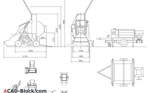 Concrete equipment dwg